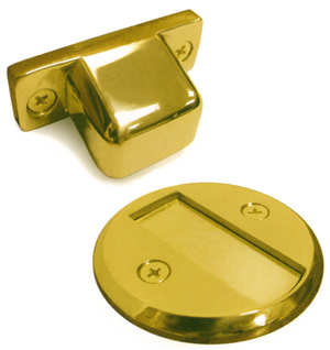 Deltana Solid Brass Door Stops And Magnetic Door Holders