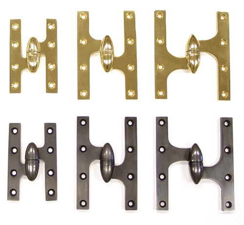 Olive Knuckle Hinges And Ornate Hinges From Deltana