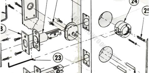 Hickory Hardware Period Brass Door Hardware Period