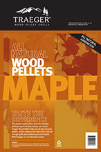 traeger pellets maple